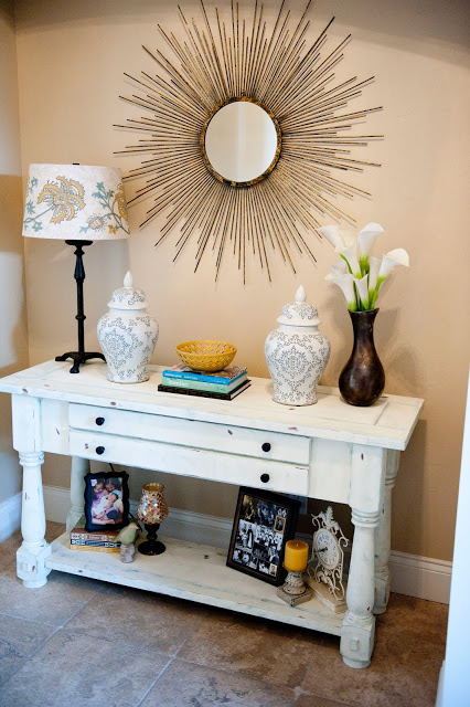 My Home Tour: Entry and Dining Room