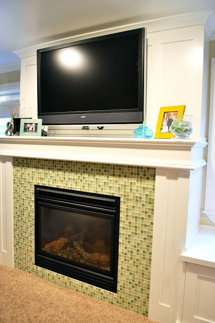 My Home Tour: Basement Family Room