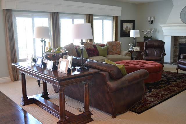 Local Client Family Room Reveal