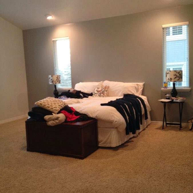 Local Client Project Reveal: Harvey Project Master Bedroom Before & After
