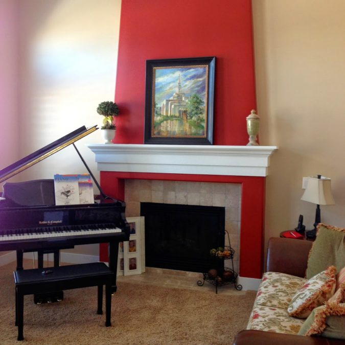 Client Project Reveal: Polished Piano Room Before & After