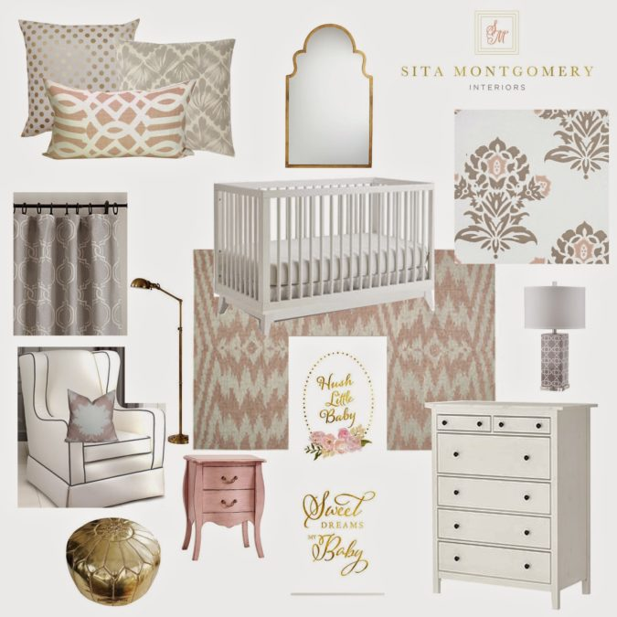 Local Client Project Reveal: Baby Girl Nursery