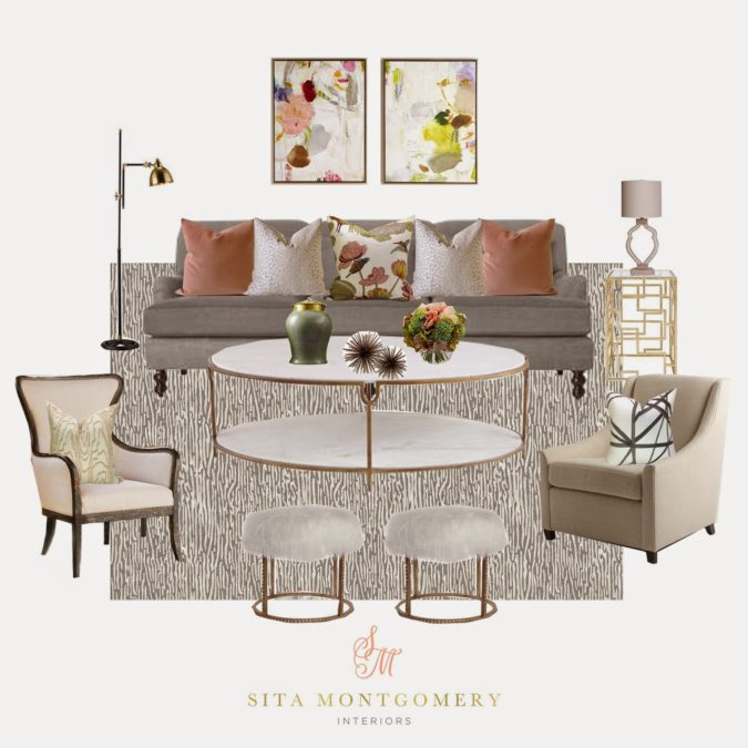 Shop This Room with Kathy Kuo Home
