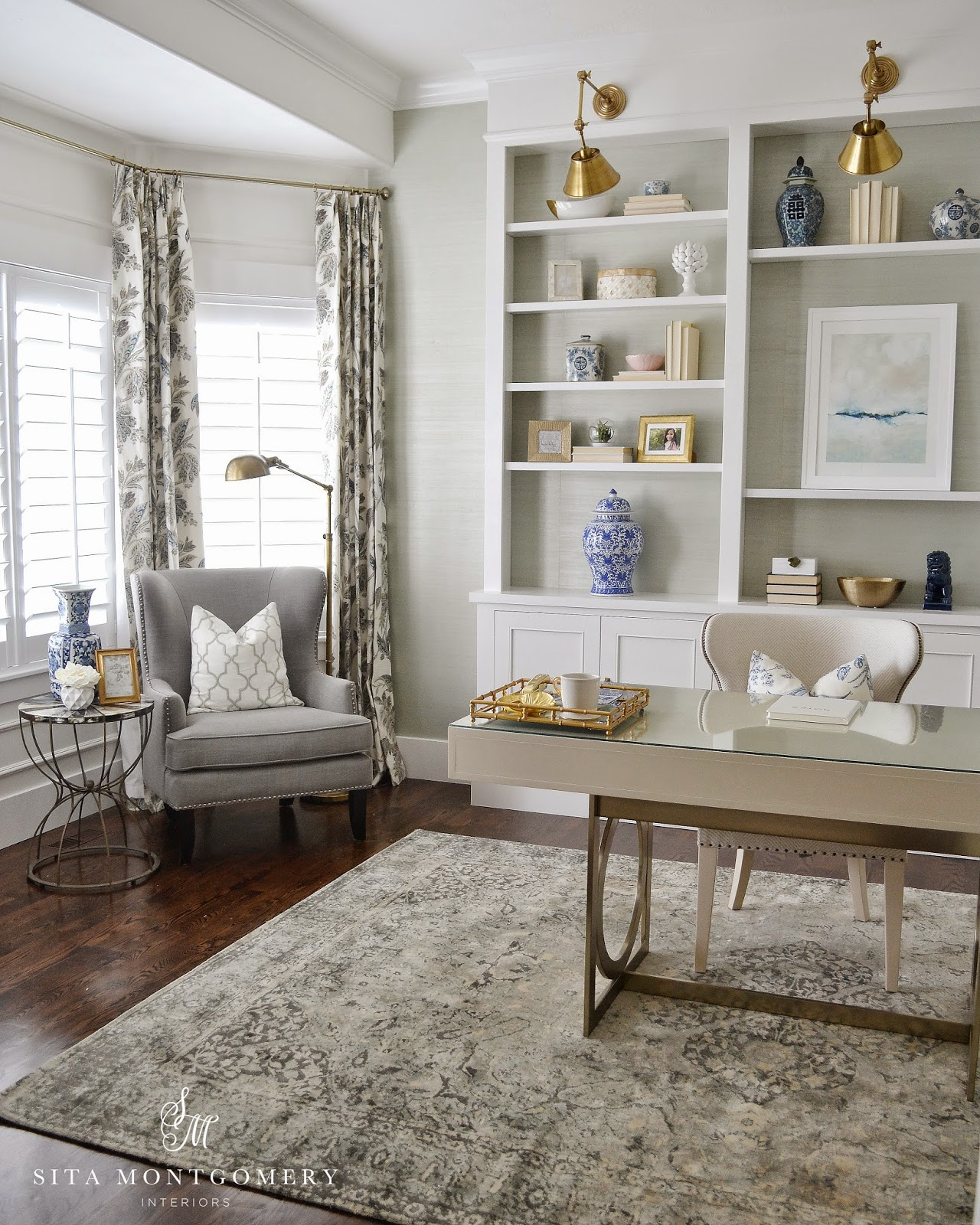 Home Office Room Design: Sita Montgomery Interiors: My Home Office Makeover Reveal