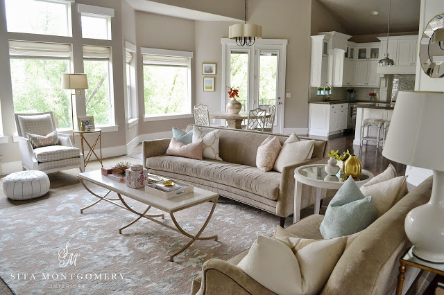 Sita Montgomery Interiors: My Home Family Room Mini Makeover Reveal