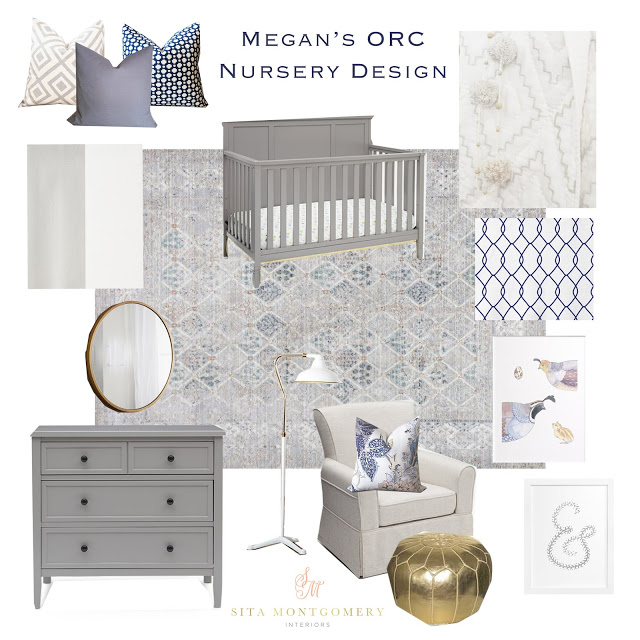 Megan's (Honey We're Home) Nursery Design for the One Room Challenge