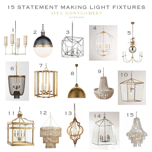 15 Statement Making Light Fixtures