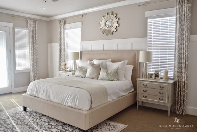 Sumptuous Bedroom Inspiration In Shades Of Silver: Sita Montgomery Interiors: My 2015 Home Updates