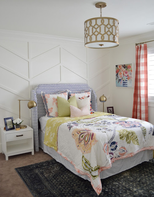 Sita Montgomery Interiors Client Project Reveal: The Primrose Project Teen Girl Bedroom