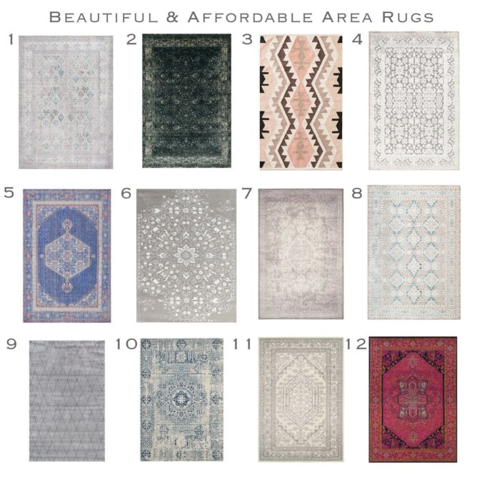 Beautiful and Affordable Area Rug  Round – Up