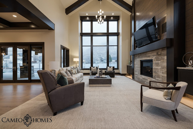 Sita Montgomery Interiors: The New Fork Project Family Room