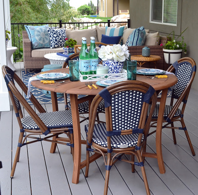 Sita Montgomery Interiors: My New Deck – Casual Dining Area