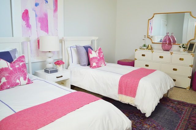 Client Project Reveal: Harvey Project Shared Girls' Bedroom