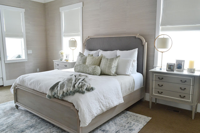 Simply White Master Bedroom