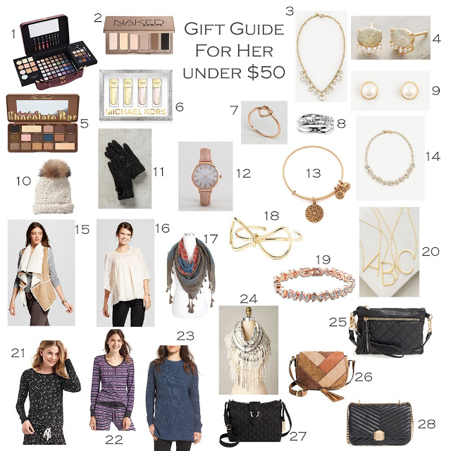 Holiday Gift Guide For Her Under 50 Sita Montgomery