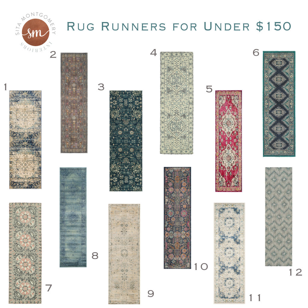 Rug Runners For 150 Or Less Sita Montgomery Interiors