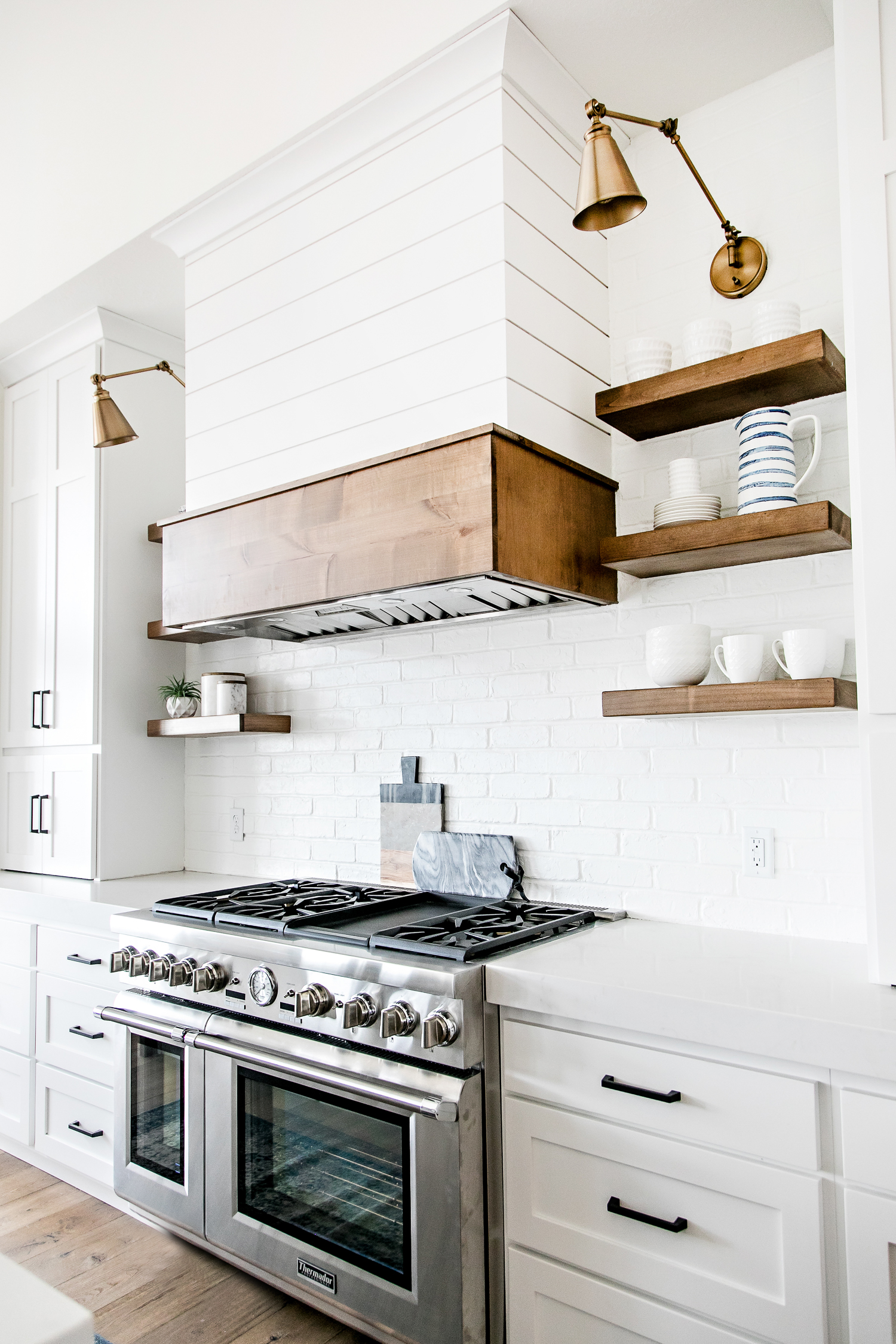 Modern Farmhouse Kitchen Backsplash smi modern farmhouse kitchen and dining nook - sita montgomery